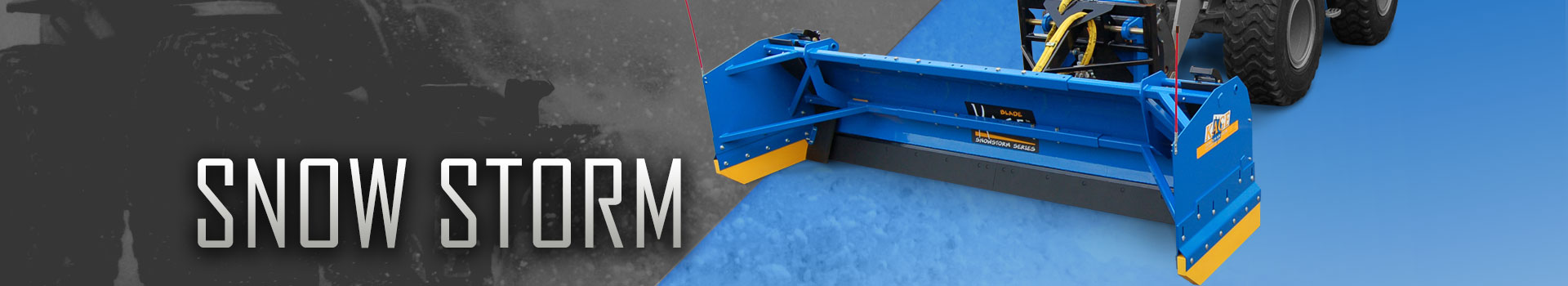 SnowStorm Plow System
