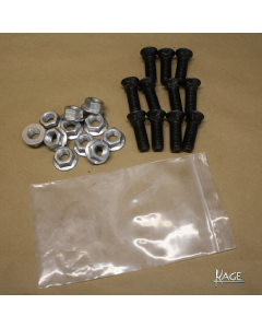 Bolt and Locknut Set (Steel Edge), SB108